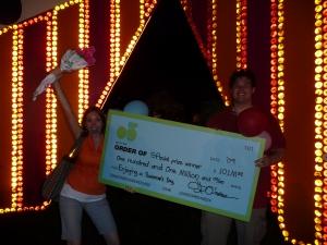 Won 101M at Bloomberg SP09!