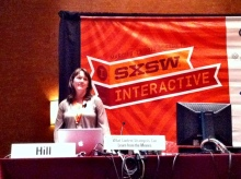 Carmen Hill at SXSW