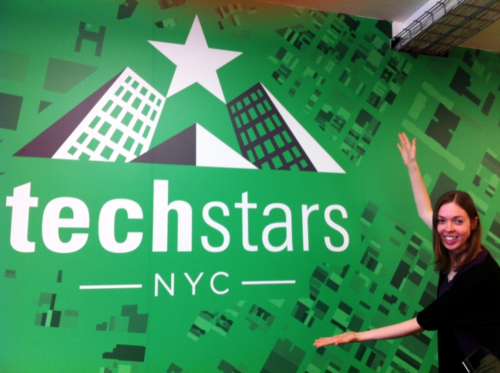 Erica Swallow at TechStars NYC