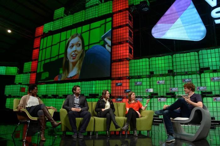 Erica Swallow Speaks at Web Summit