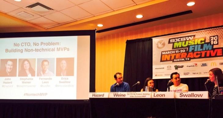 Non-tech MVP Panel SXSW