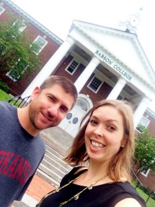 Noble Impacters Chad Williamson and Erica Swallow attended the Hawken Educators Workshop at Babson College this week.