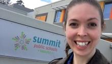 Erica Swallow at Summit Public Schools Tamalpais