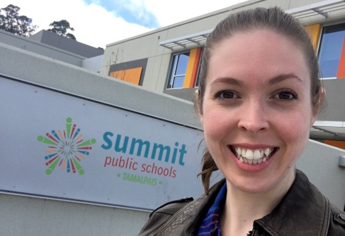 Erica Swallow at Summit Public Schools Tamalpais