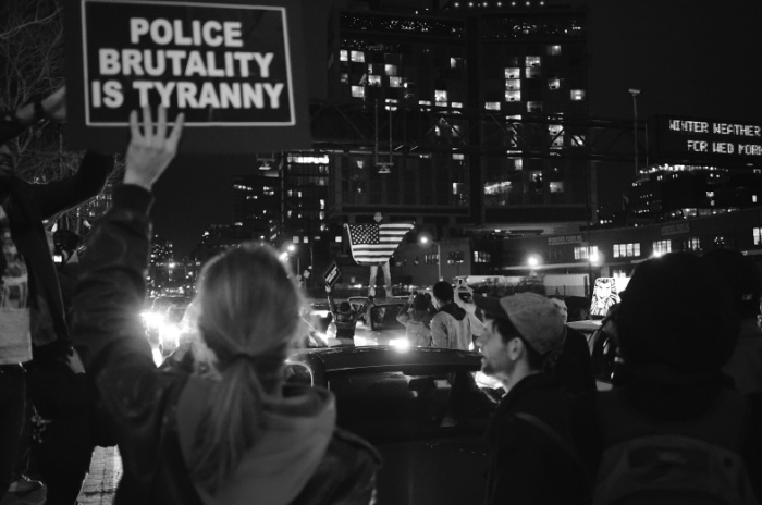 Police brutality is tyranny