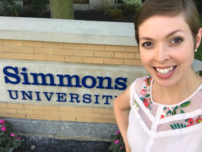 Erica Swallow at Simmons University