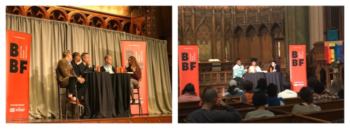 Conversations in Churches at Boston Book Festival 2019