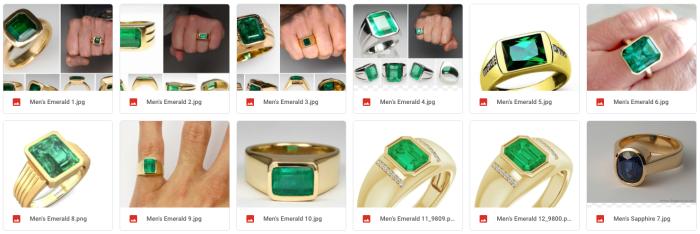 Inspiration Rings for Jordan Reynolds engagement ring